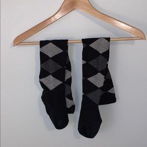 🌸2/$30🌸Nordstrom Argyle Over the Knee Socks